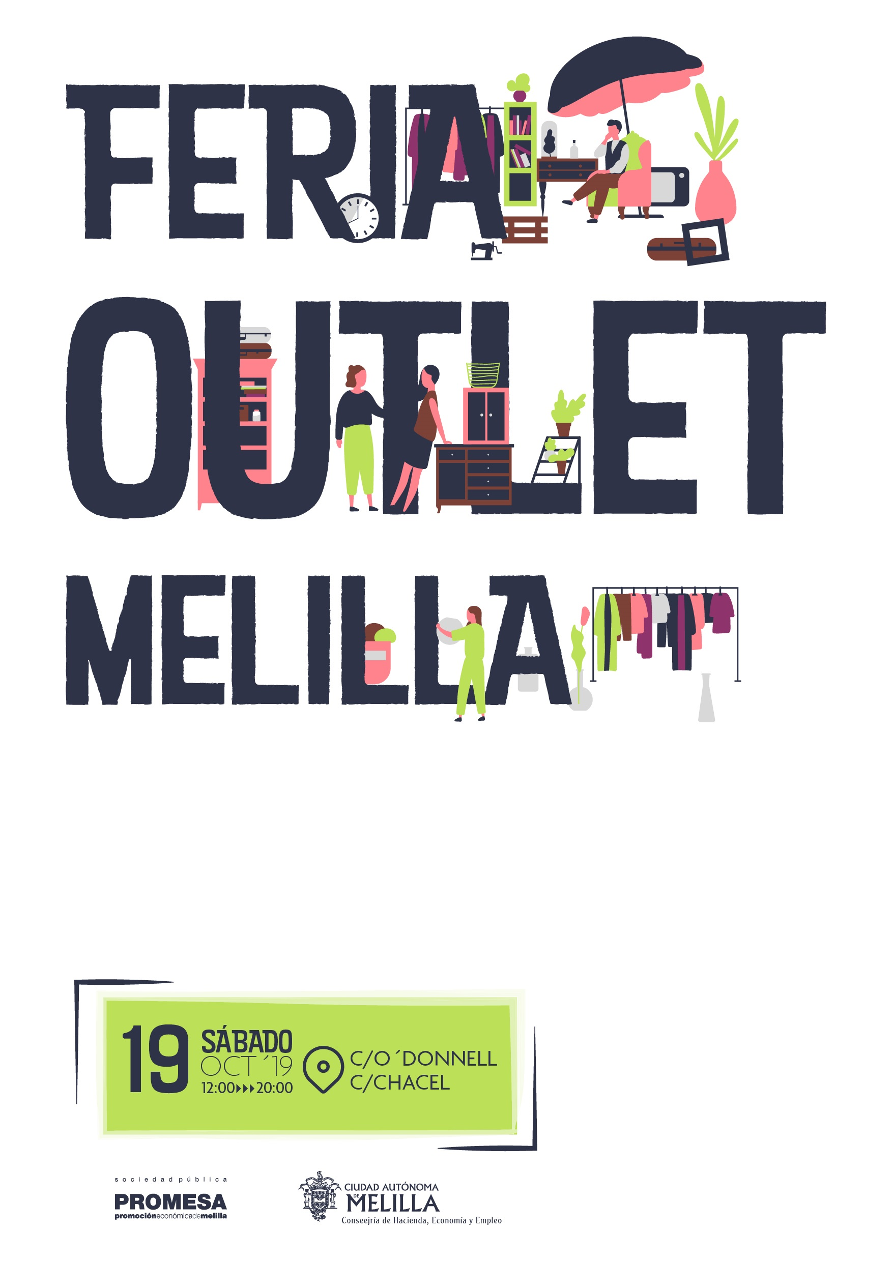 FERIA OUTLET, INICIATIVA DE APOYO AL COMERCIO LOCAL